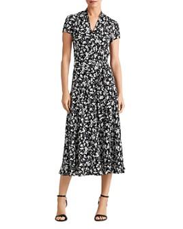 Ralph Lauren - Floral-Print Midi Dress