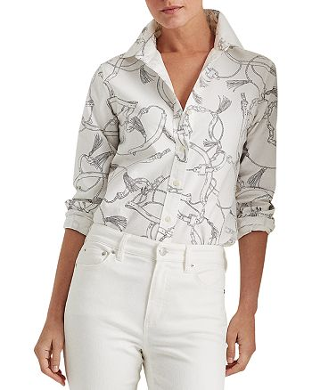 Ralph Lauren - Equestrian Print Shirt