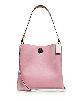COACH - Charlie Color-Block Leather Bucket Bag