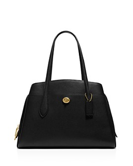 COACH - Lora Mixed Leather Carryall Tote