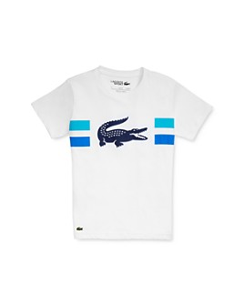 Lacoste - Boys' Croc Graphic T-Shirt - Little Kid, Big Kid