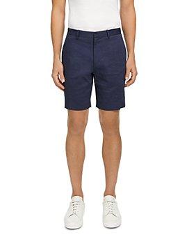 Theory - Curtis Eco Crunch Linen-Blend Regular Fit Shorts