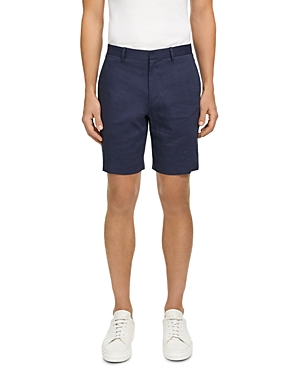 Theory CURTIS ECO CRUNCH LINEN-BLEND REGULAR FIT SHORTS