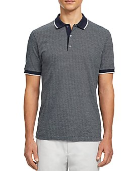 Theory - Geo Knit Regular Fit Polo