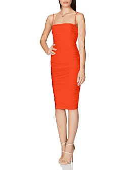Nookie - Cooper Ruched Bodycon Midi Dress