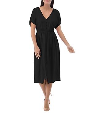 Laura Dolman-Sleeve Dress