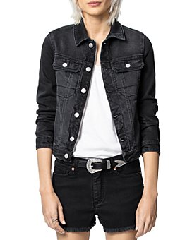 Zadig & Voltaire - Kioky Embellished Denim Jacket