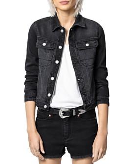 Zadig & Voltaire - Kioky Embellished Denim Jacket
