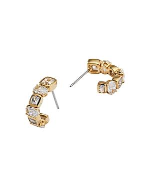 Nadri Cece Cubic Zirconia J-Hoop Earrings