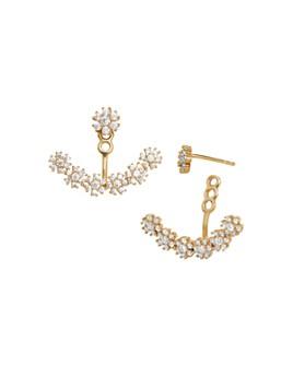 BAUBLEBAR - Flor Cubic Zirconia Ear Jackets