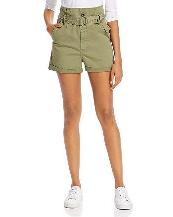 FRAME - Safari Belted Shorts