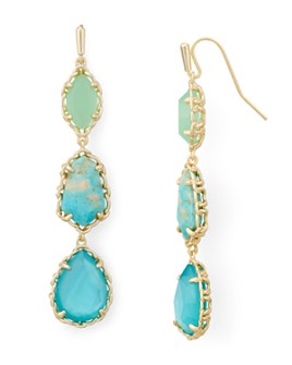 Kendra Scott - Gwenyth Stone Linear Drop Earrings
