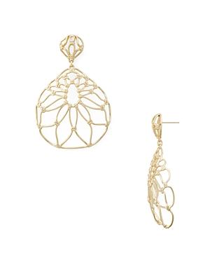 Kendra Scott Hallie Openwork Drop Earrings-Jewelry & Accessories