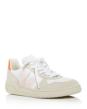 VEJA - Women's V-10 Leather Low-Top Sneakers