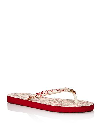 Tory Burch - Women's Printed Flip-Flops