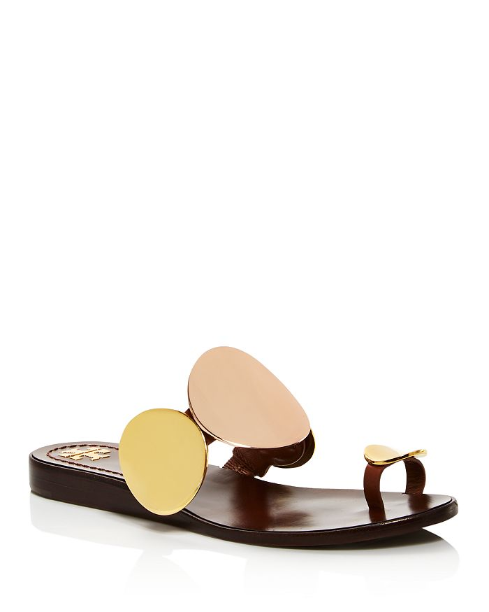 Tory Burch - Women's Patos Multidisc Thong Sandals