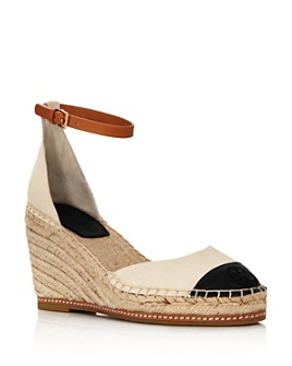 Tory Burch - Women's Color Block Wedge Espadrille Sandals
