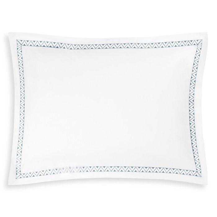 Matouk Schumacher Prado Standard Sham In White