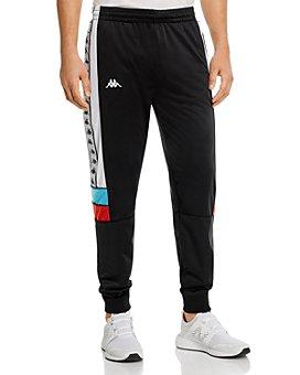 KAPPA - 222 Banda Memzz Color-Blocked Logo-Taped Track Pants