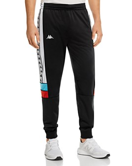 KAPPA - 222 Banda Memzz Color-Blocked Logo-Taped Track Pants