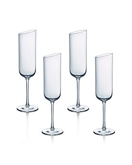 Villeroy & Boch - New Moon Flute Champagne Glasses, Set of 4