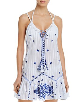 Ramy Brook - Selma Embroidered Cotton Mini Dress