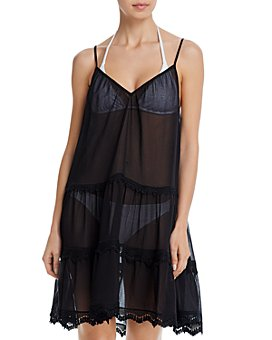 Ramy Brook - Maia Fringe Dress Swim Cover-Up