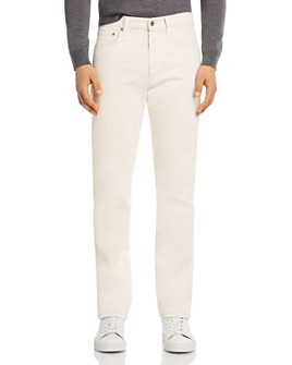 Helmut Lang - Straight Fit Jeans in White