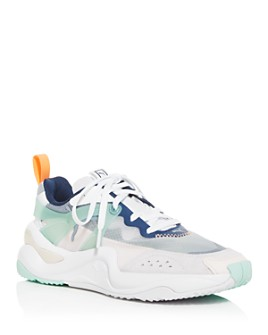 PUMA - Women's Rise Mixed-Media Low-Top Sneakers
