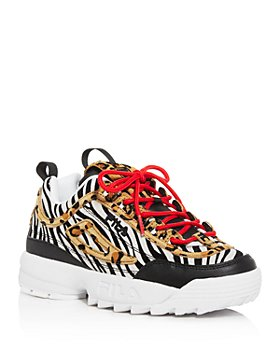 FILA - Women's Disruptor II Animal Low-Top Platform Sneakers
