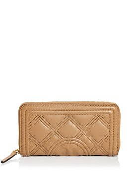 Tory Burch - Fleming Quilted Leather Continental Wallet