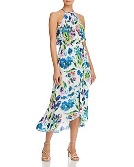 Parker - Dottie Printed Halter Maxi Dress