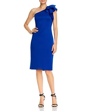 Eliza J One-Shoulder Dress