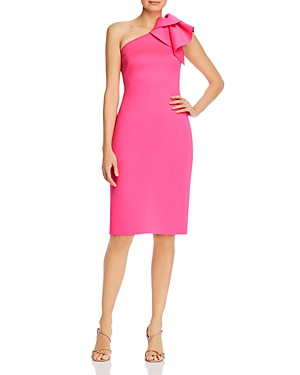 Eliza J One-Shoulder Dress-Women