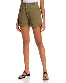 AQUA - Elastic-Waist Shorts