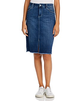 JAG Jeans - Betty Denim Pencil Skirt in Thorne Blue