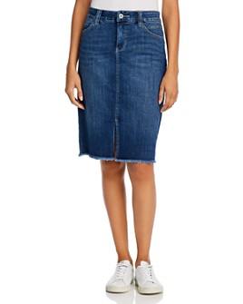 JAG Jeans - Betty Denim Pencil Skirt in Thorne Blue