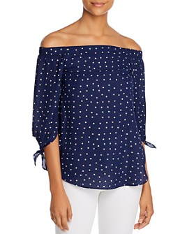 Status by Chenault - Off-The-Shoulder Top