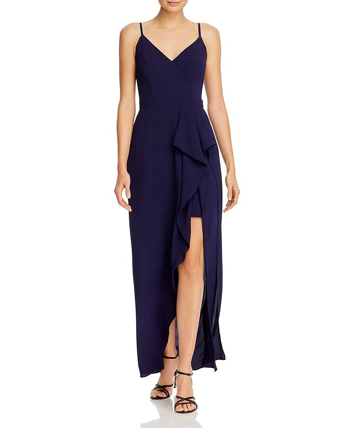 AQUA - Ruffled Gown - 100% Exclusive