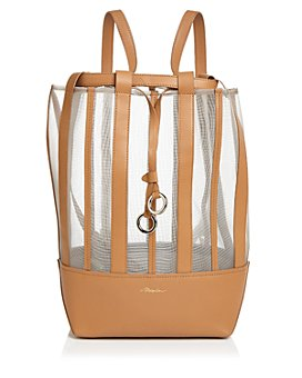 3.1 Phillip Lim - Billie Medium Mesh Leather Convertible Backpack