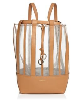 3.1 Phillip Lim - Billie Medium Mesh Leather Convertible Backpack
