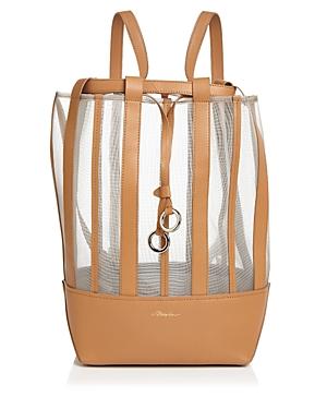 3.1 Phillip Lim Billie Medium Mesh Leather Backpack