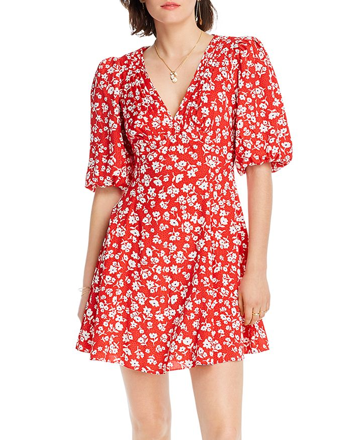 Lini Evie Floral Print Dress - 100% Exclusive In Red Floral