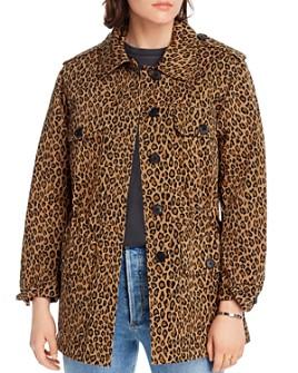 LINI - Camille Leopard-Print Jacket - 100% Exclusive