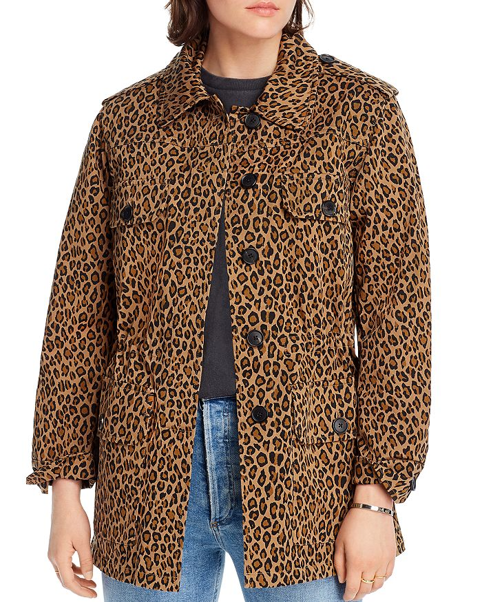 Lini Camille Leopard Print Jacket - 100% Exclusive In Tan/black