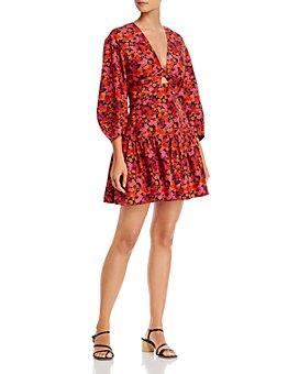 Derek Lam 10 Crosby - Talia Floral Print Dress