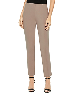 Misook Slim-Leg Ponte Pants