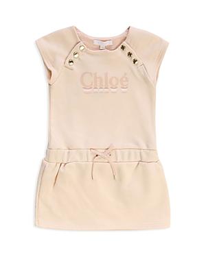 Chloe Girls\\\' Logo Button Trim Dress - Baby-Kids