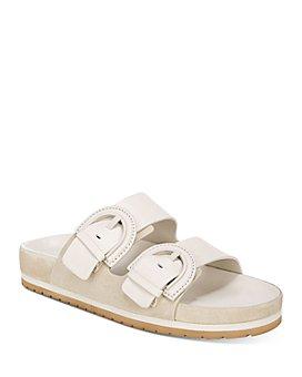 Vince - Women's Glyn Double-Buckle Slide Sandals