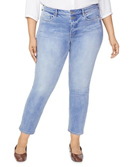 NYDJ Plus - Sheri Slim Ankle Jeans in Tambor Tambo